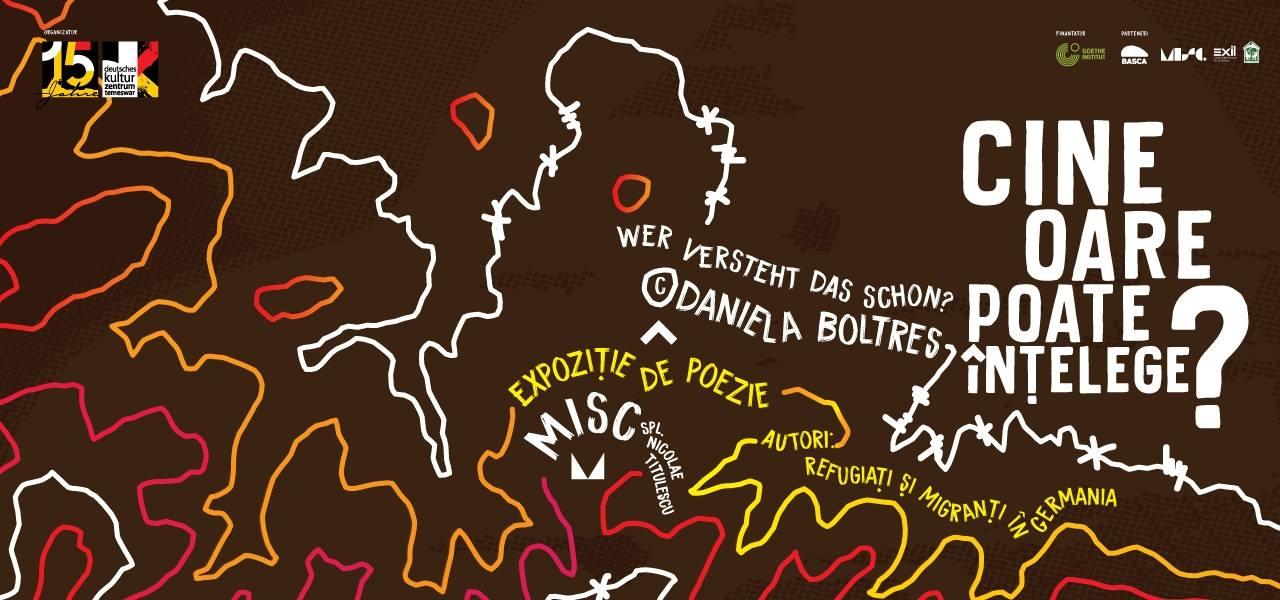 20.02. – 12.03.2018 WER VERSTEHT DAS SCHON?© am Deutschen Kulturzentrum Temeswar/ Timișoara Rumänien